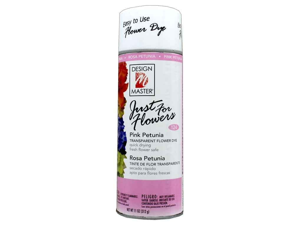 Design Master Just For Flowers Spray Dye 11 oz. #124 Pink Petunia