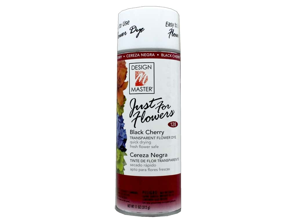 Design Master Just For Flowers Spray Dye 11 oz. #128 Black Cherry