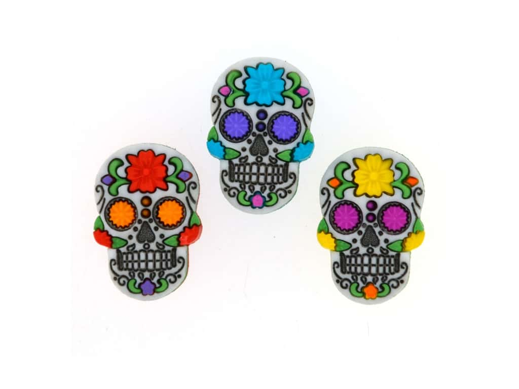 Jesse James Embellishments Day Of The Dead