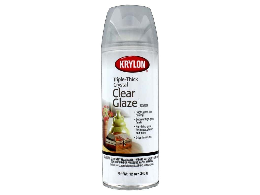 Krylon Artist Sprays Triple Thick Glaze 12oz