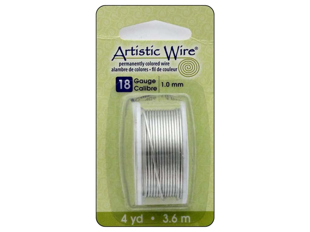 Artistic Wire 18 ga. Copper Wire 4 yd. Tinned