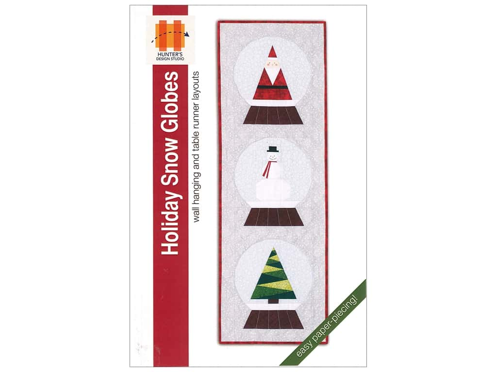 Hunter's Design Studio Holiday Snow Globes Pattern