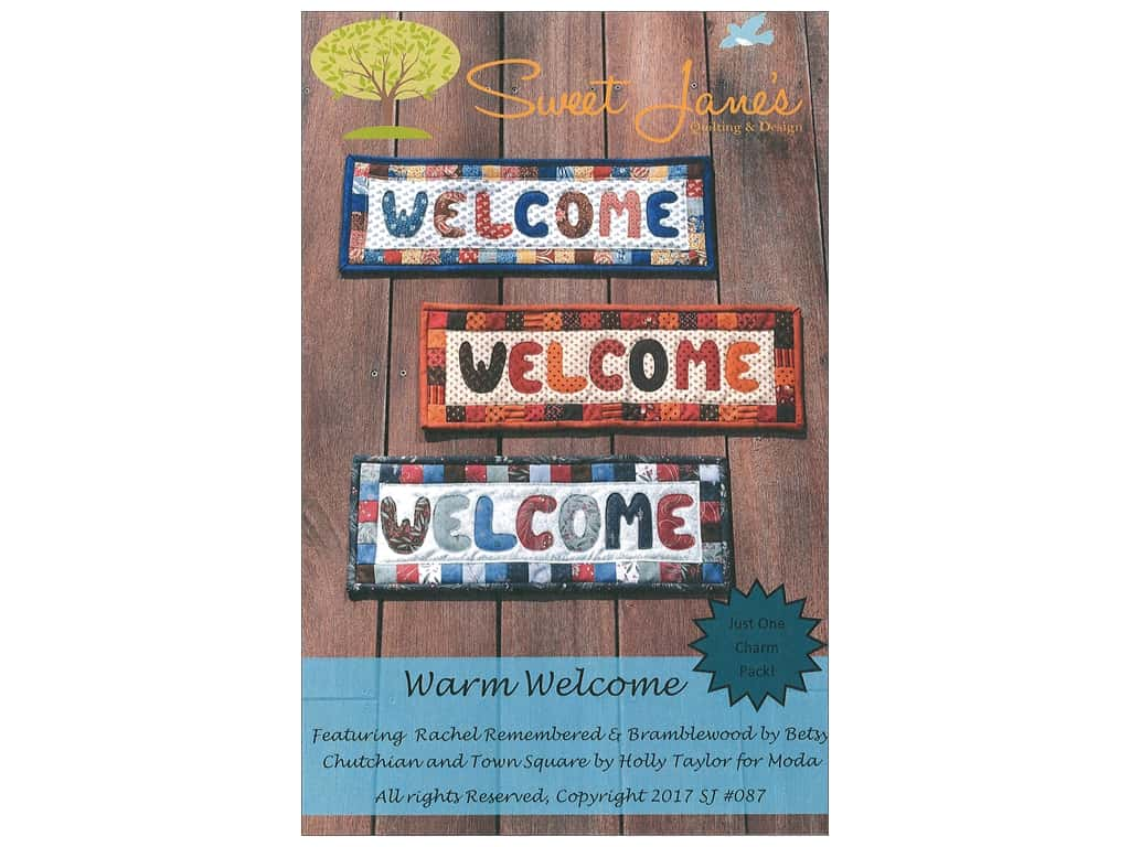 Sweet Jane's Designs Warm Welcome Pattern