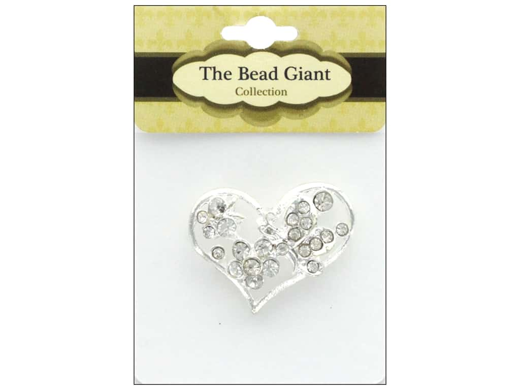 The Bead Giant Jewelry Bead Spacer Heart