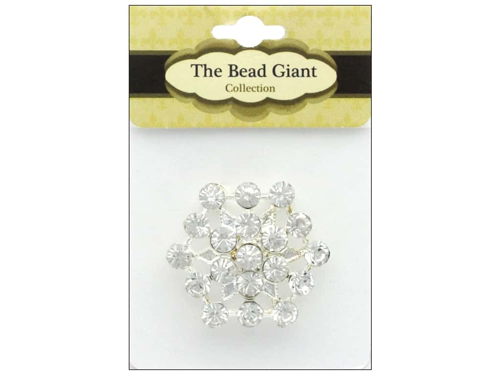 The Bead Giant Jewelry Bead Burst Silver
