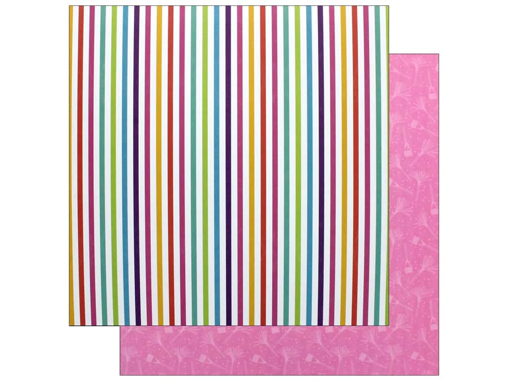 """Photo Play Collection CAKE Rainbow Sprinkles Paper 12""""x 12"""" Make Some Noise (25 pieces)"""