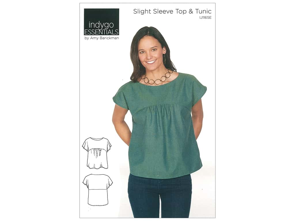 Indygo Junction Essentials Slight Sleeve Top & Tunic Pattern