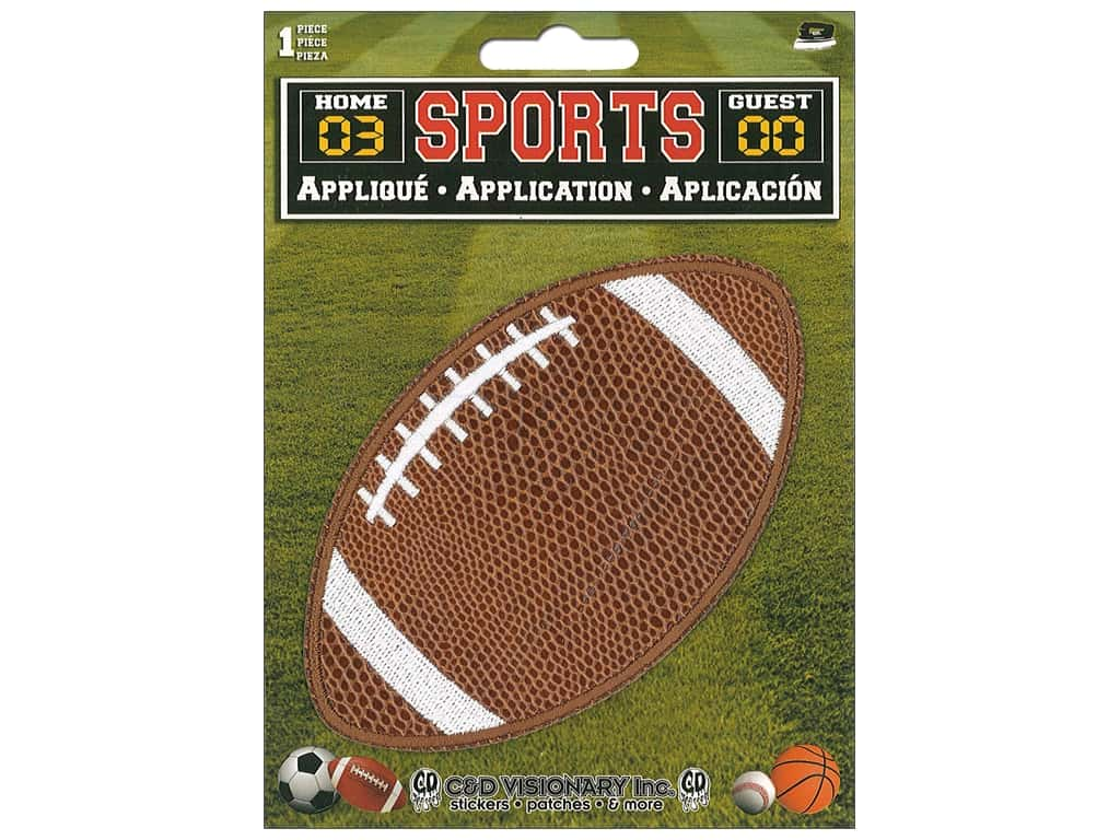 C&D Visionary Applique Large Football