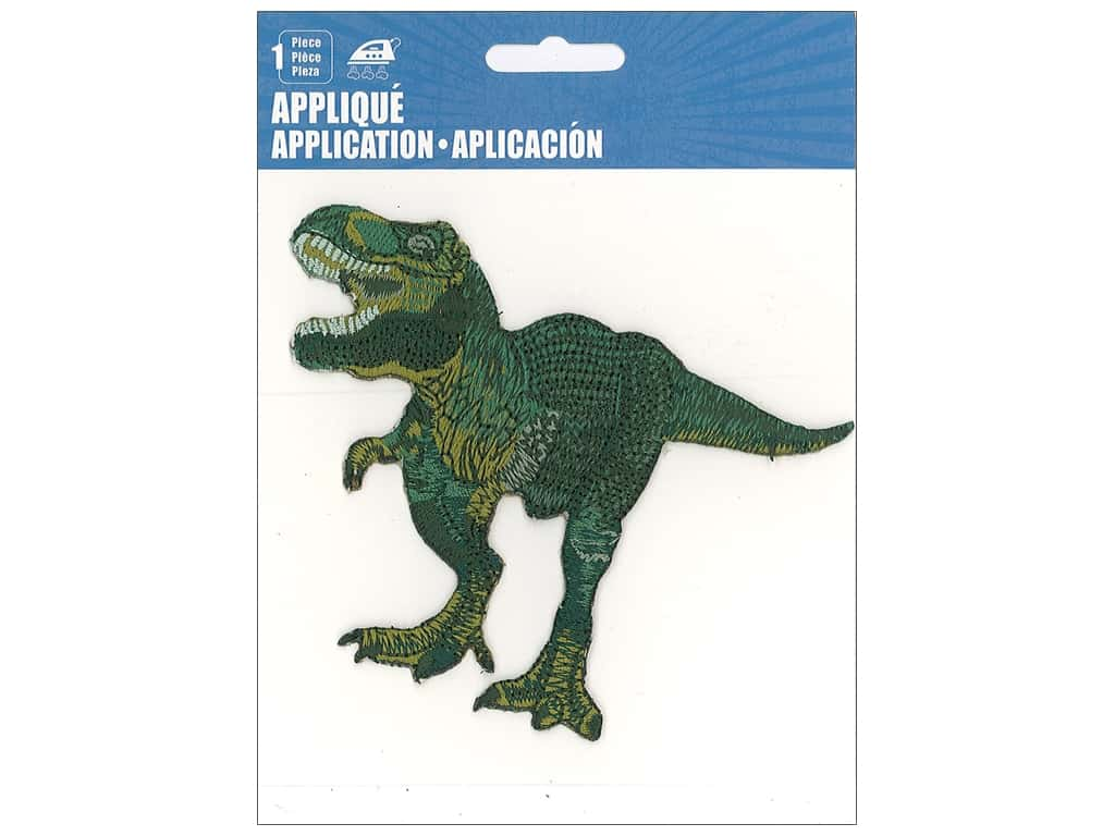 C&D Visionary Applique Dinosaurs T-Rex