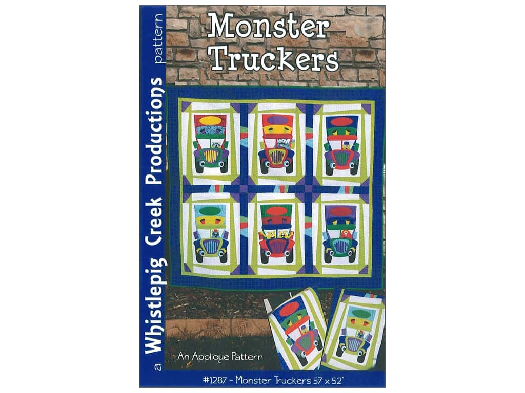 Whistlepig Creek Productions Patterns - Monster Truckers