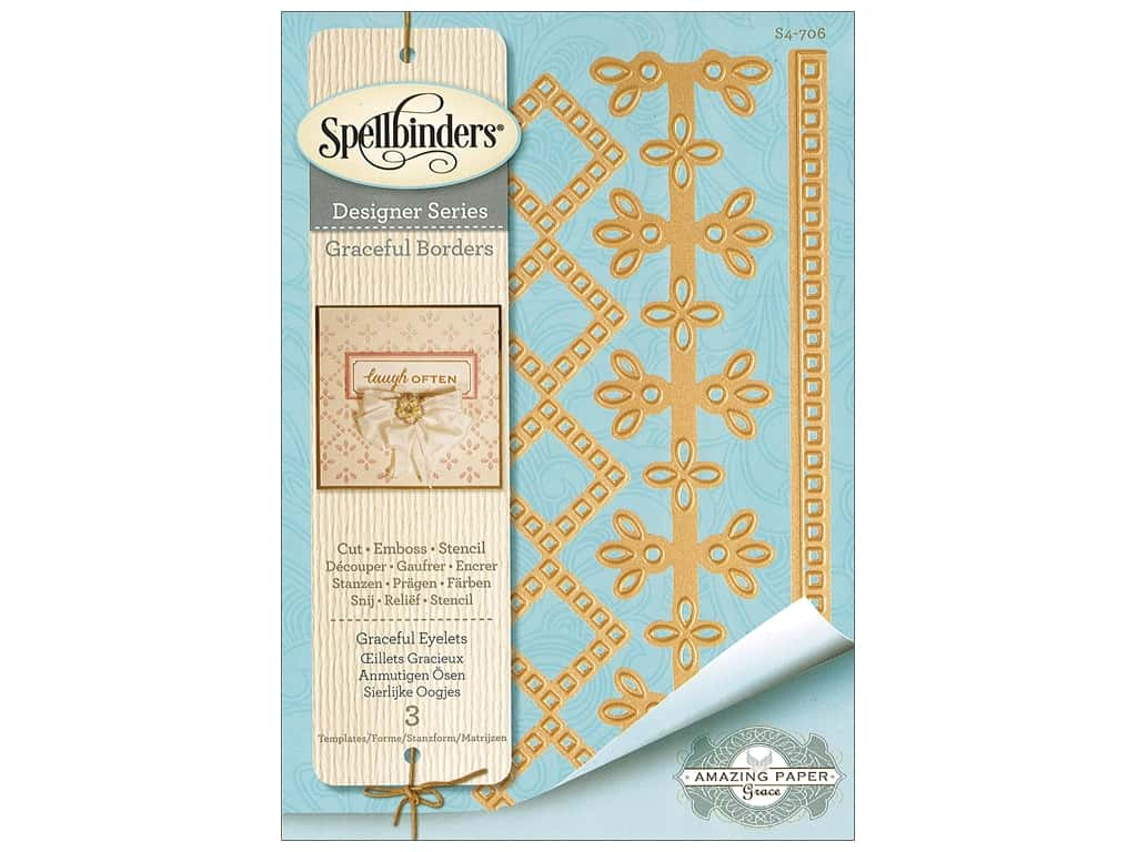 Spellbinders Die Card Creator Graceful Eyelets