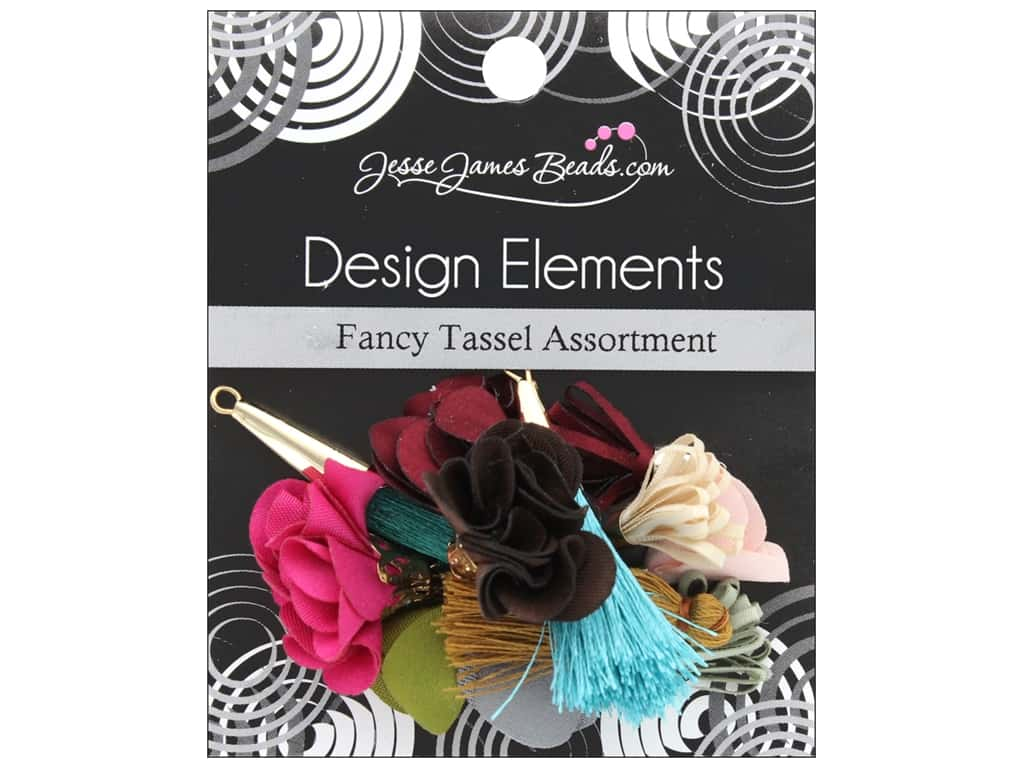 Jesse James Embellishments Tassel Assortment Fancy