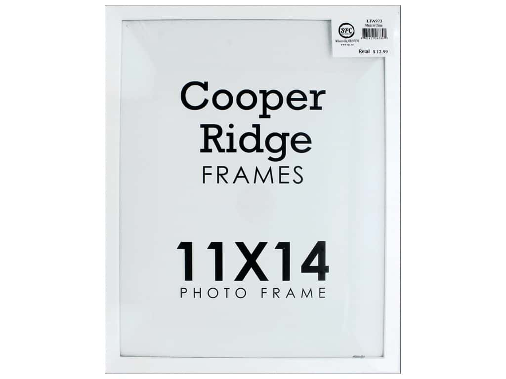 Sierra Pacific Crafts Frame Wood With Easel 11 in. x 14 in. White