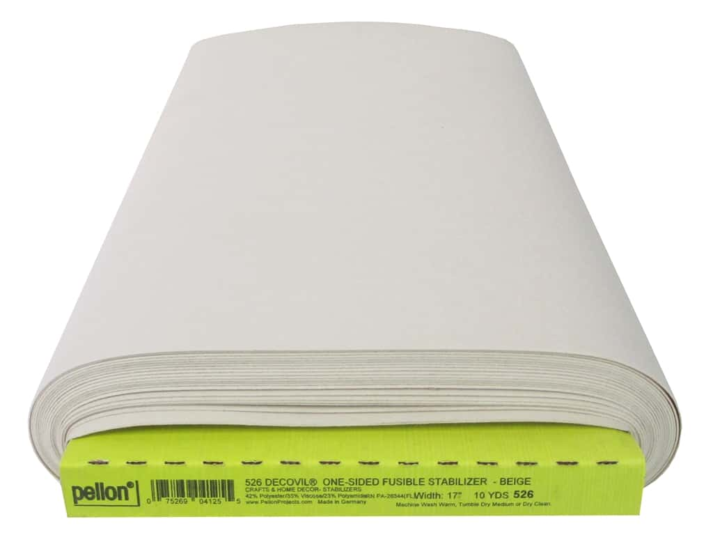 Pellon Stabilizer Decovil Fusible 17 in. x 10 yd Beige (10 yards)