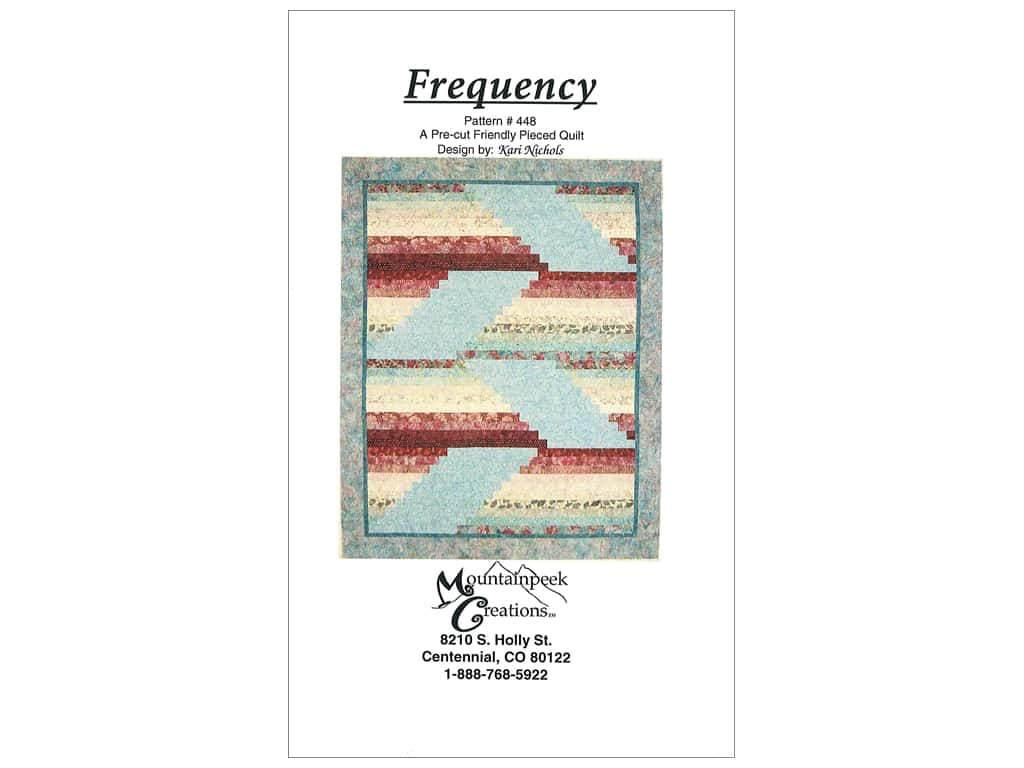 Mountainpeek Creations Patterns - Frequency