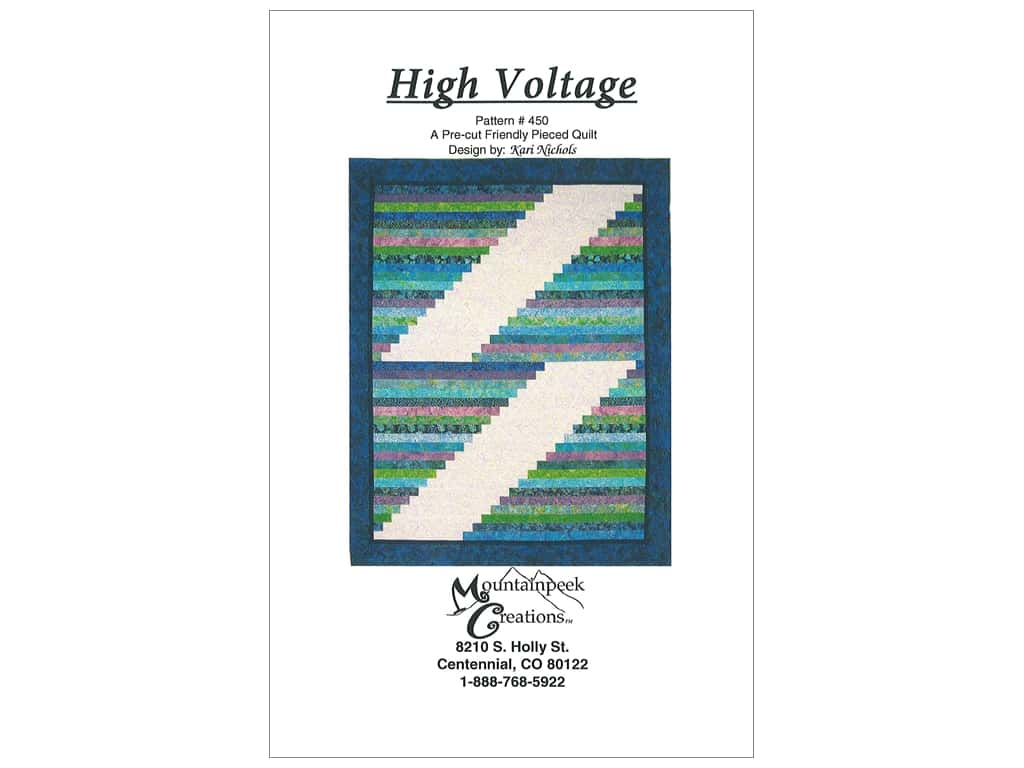 Mountainpeek Creations High Voltage Pattern