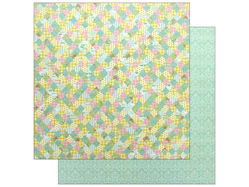 """Authentique Collection Beginnings Paper 12""""x 12"""" Four (25 pieces)"""