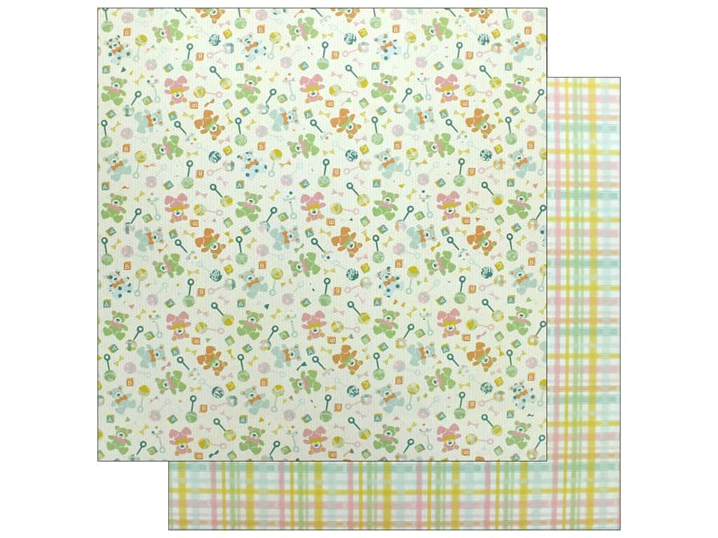 """Authentique Collection Beginnings Paper 12""""x 12"""" Two (25 pieces)"""