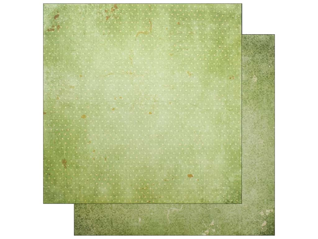 """Bo Bunny Collection Double Dot Paper 12""""x 12"""" Sweet Pear Vintage (25 pieces)"""