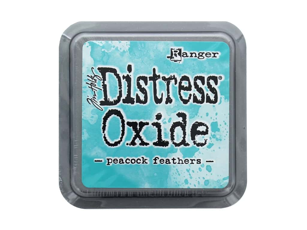 Ranger Tim Holtz Distress Oxide Ink Pad Peacock Feathers