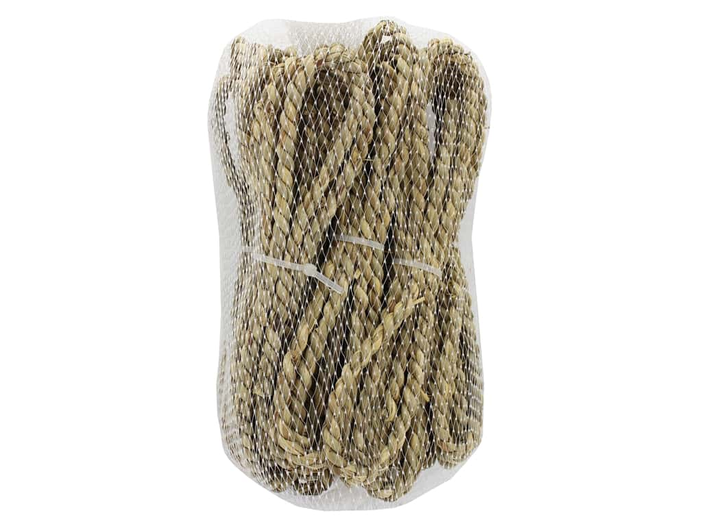 Sierra Pacific Crafts Decor Twine Braided Bundle 7.5 in. Bag Natural 7 pc