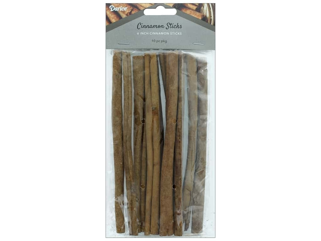 Darice Decor Cinnamon Stick 6 inches 10pc