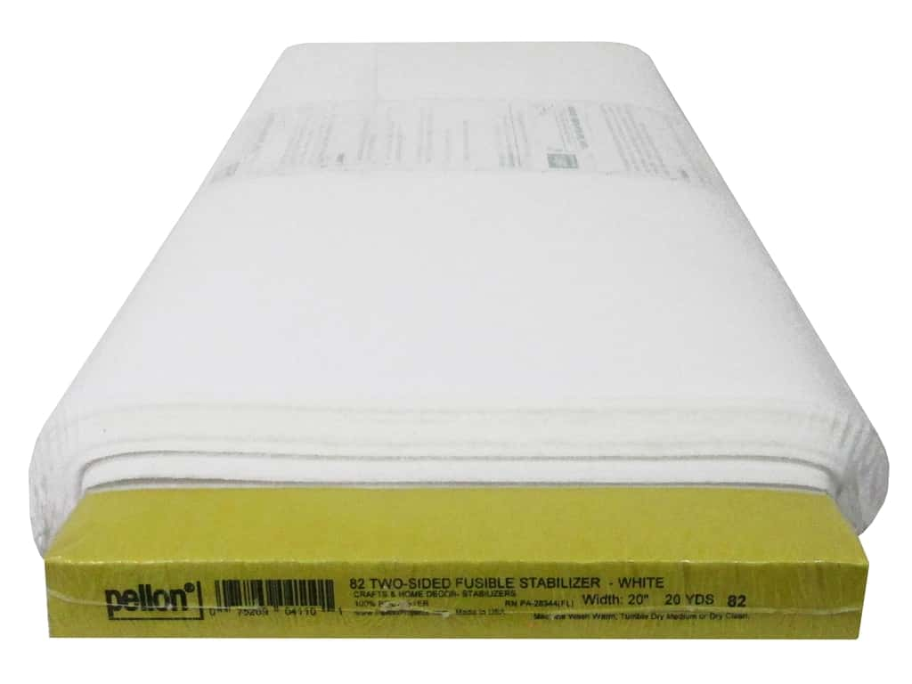Pellon Stabilizer Two Side Fusible 20 in. x 20 yd (20 yards)