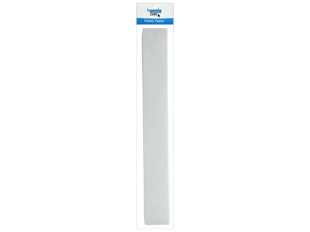 "By Annie Polypropylene Strapping 1.5"" White 6yd"