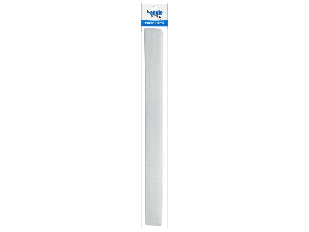 """By Annie Polypropylene Strapping 1"""" White 6yd"""