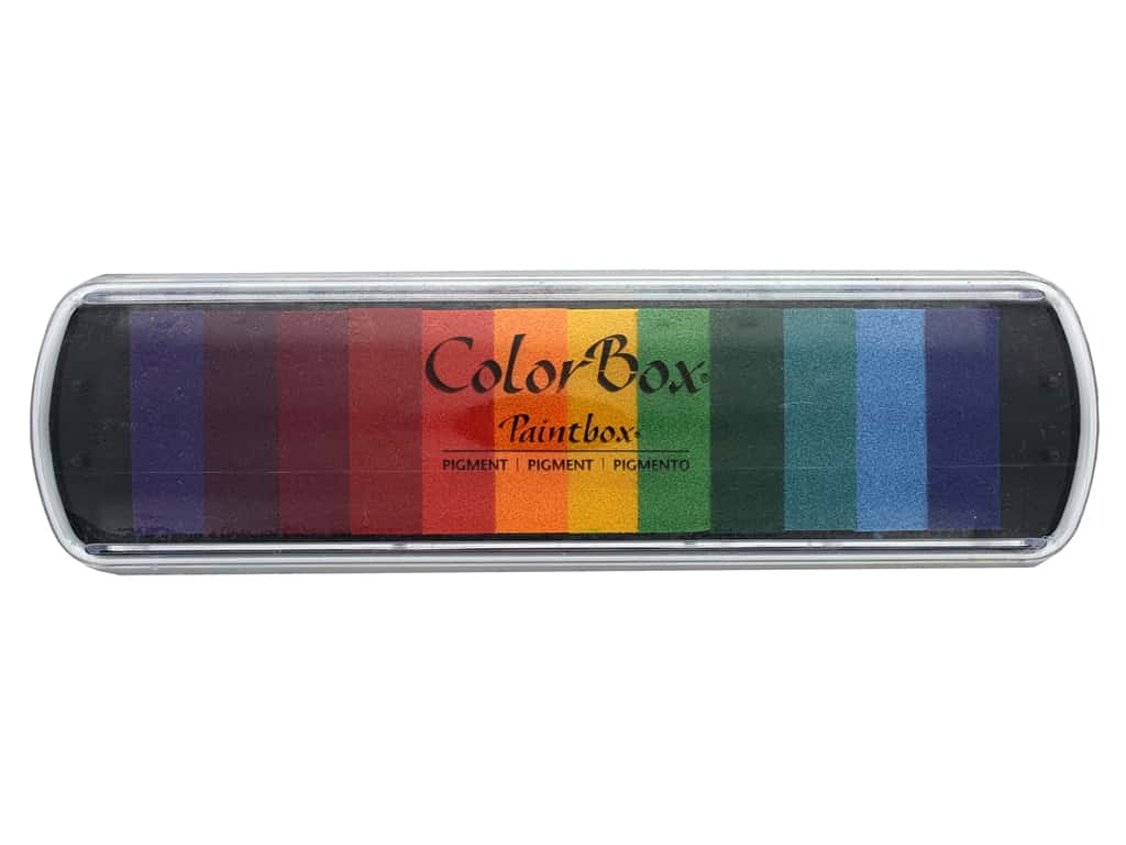 ColorBox Pigment Inkpad Paint Box Bright