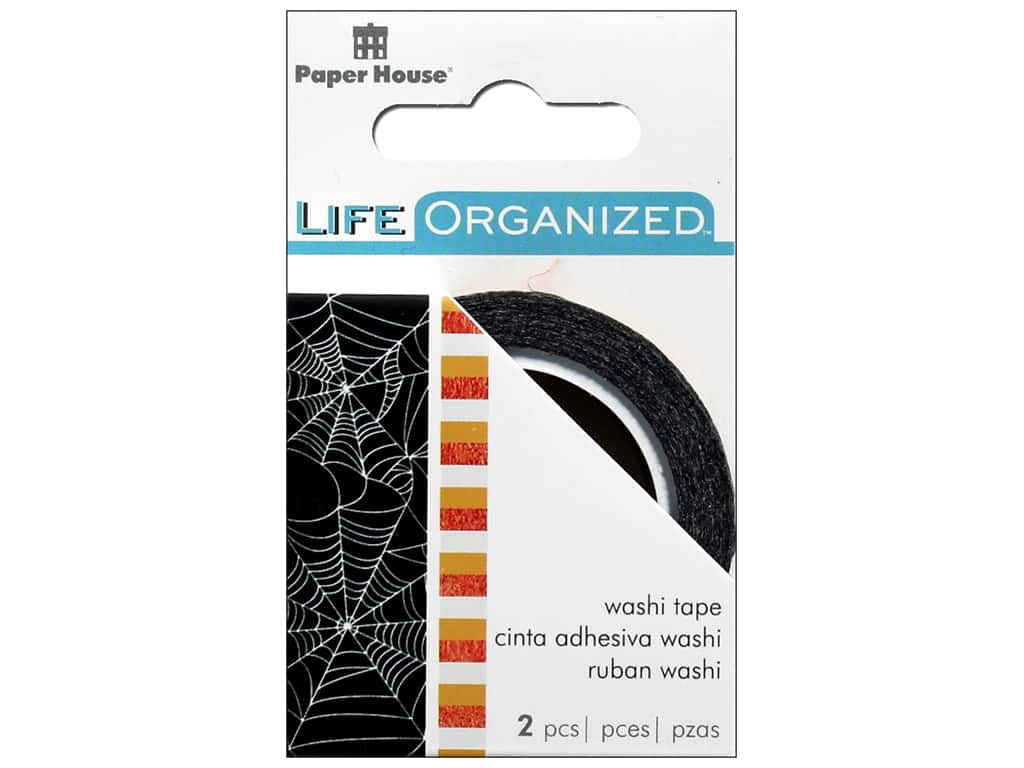 Paper House Collection Life Organized Washi Tape Halloween