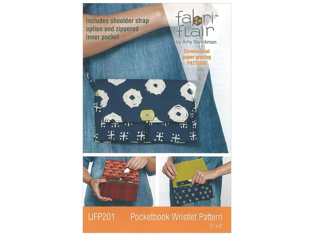 Indygo Junction Fabri Flair Pocketbook Wristlet Pattern