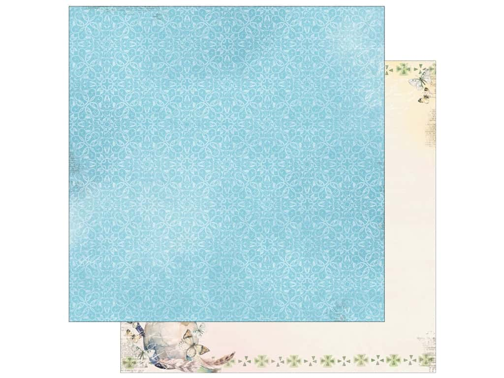 Bo Bunny Collection Serendipity Paper 12 in. x 12 in.  Take Flight (25 pieces)