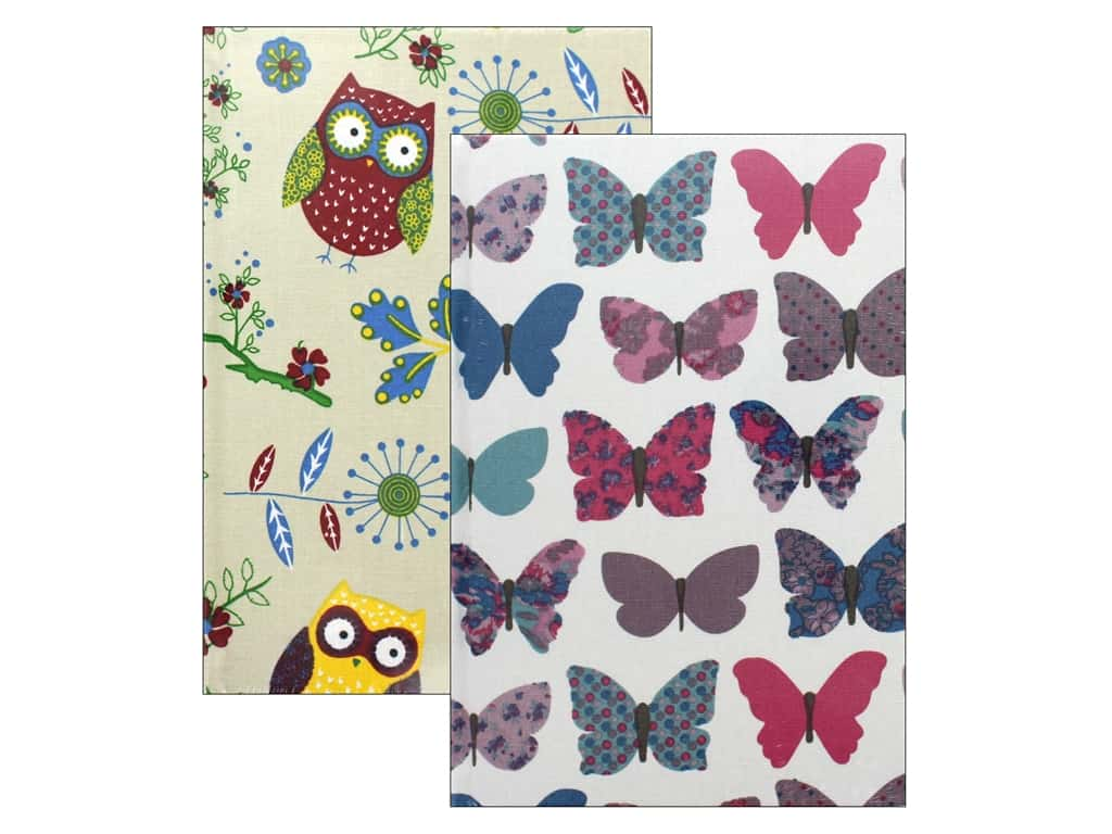 Tacony Notions Notebook Fabric Covered Large Assorted