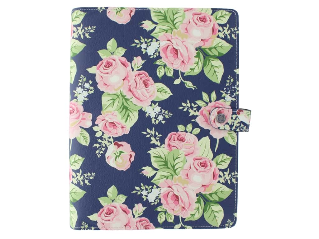 Webster's Pages Color Crush Planner Composition Navy Floral Book Wrap