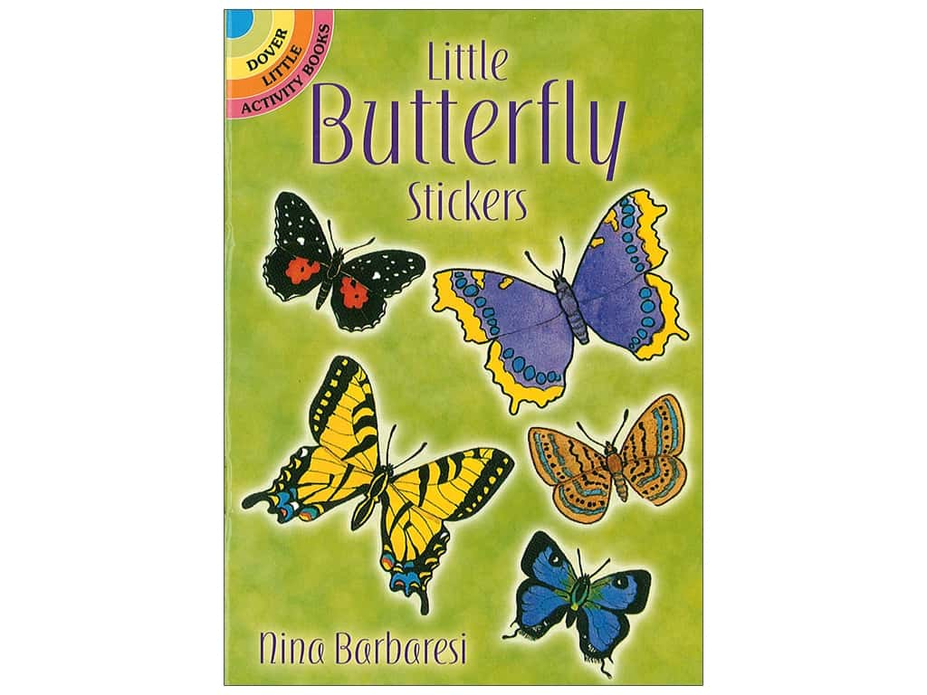 Dover Publications Little Butterfly Stickers Book