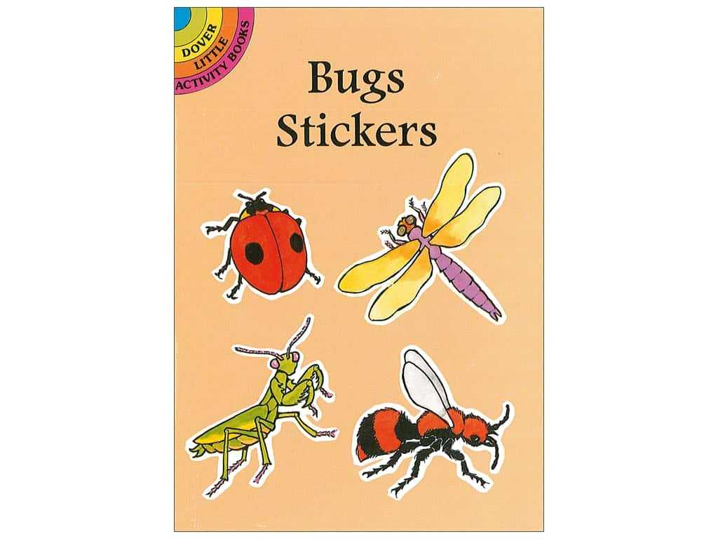 Dover Publications Little Bugs Stickers Book