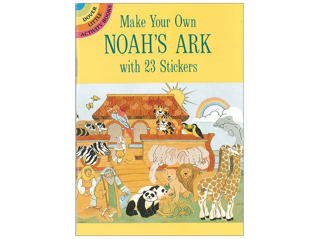 Dover Publications Little Make Your Own Noah's Ark With 23 Stickers Book