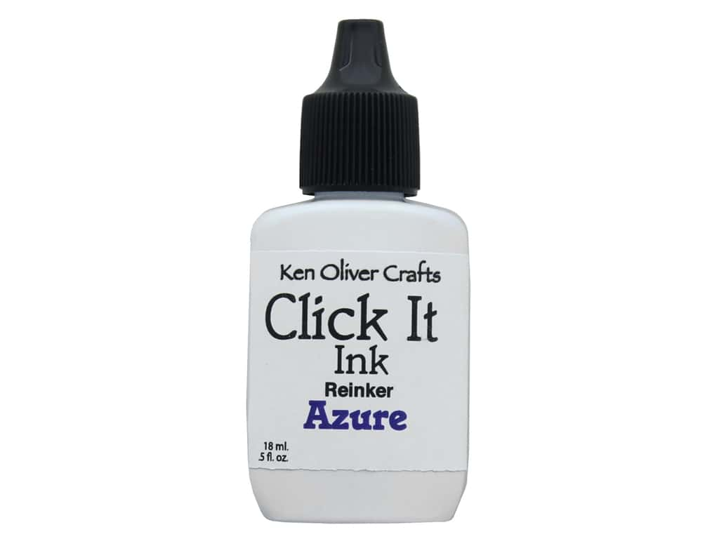 Contact Crafts Ken Oliver Click It Ink ReInker Azure