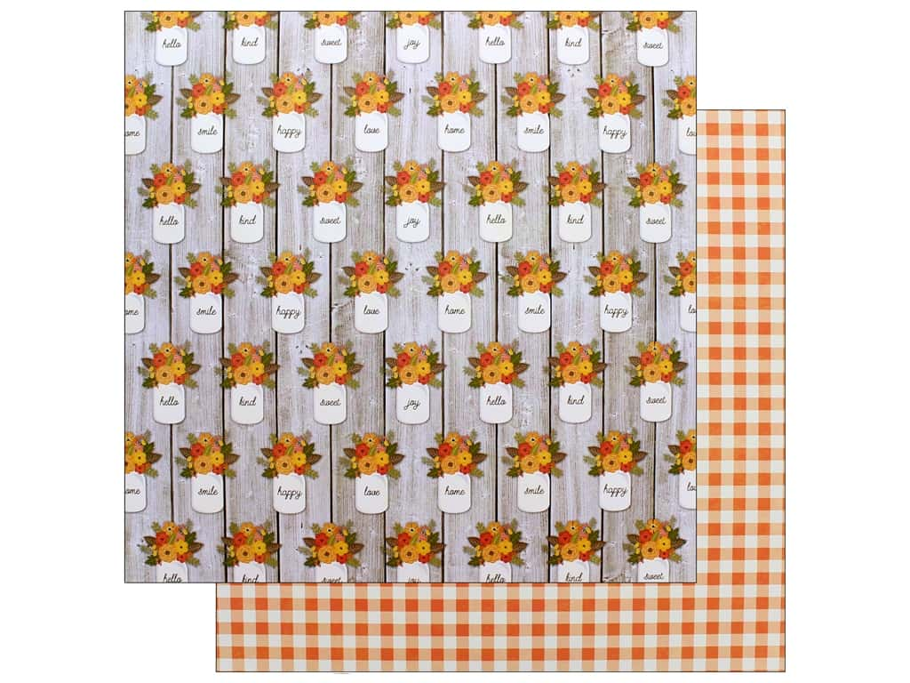 Jillibean Soup Collection Farmhouse Stew Paper 12 in. x 12 in. Rise & Shine (25 pieces)
