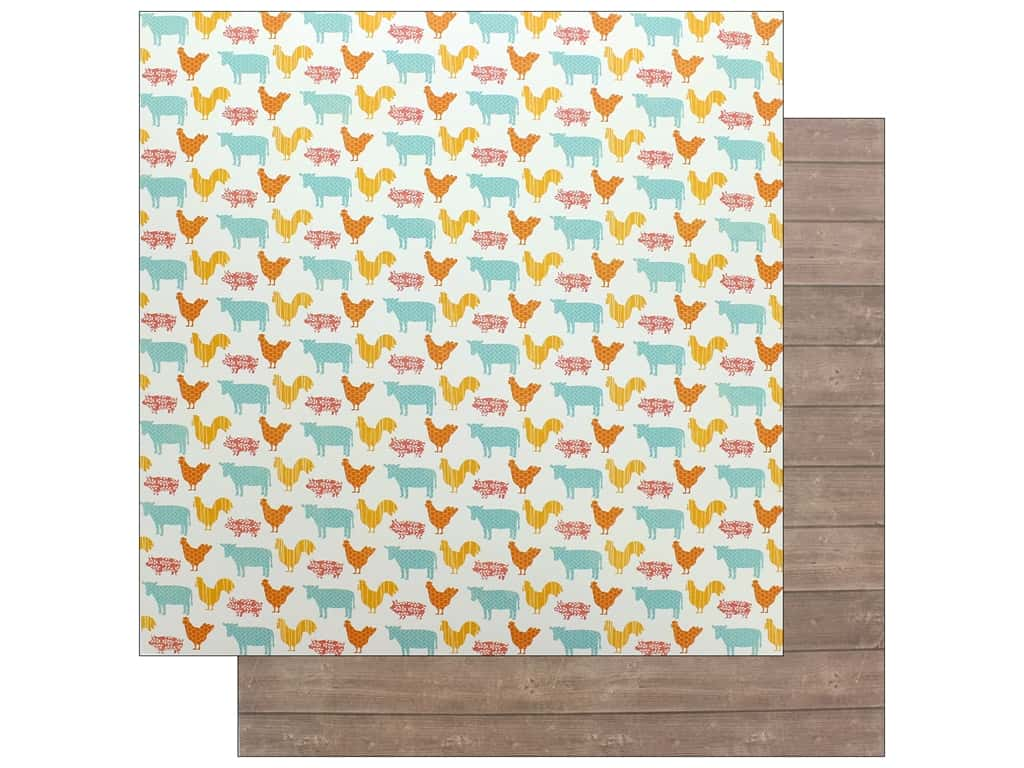Jillibean Soup Collection Farmhouse Stew Paper 12 in. x 12 in. Bless Your Heart (25 pieces)