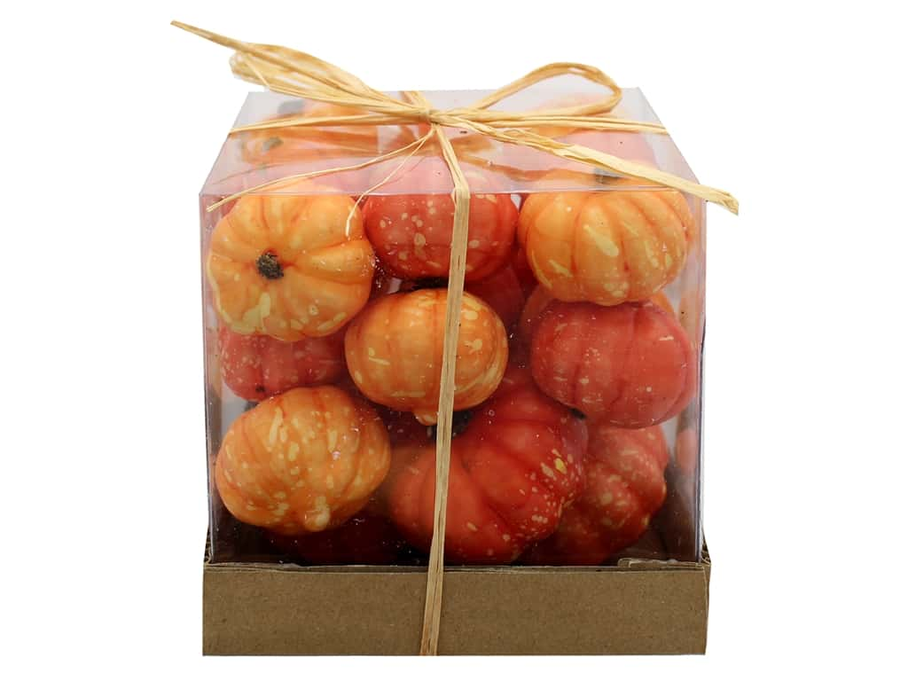 Sierra Pacific Crafts Filler Tiny Pumpkins In Box Orange
