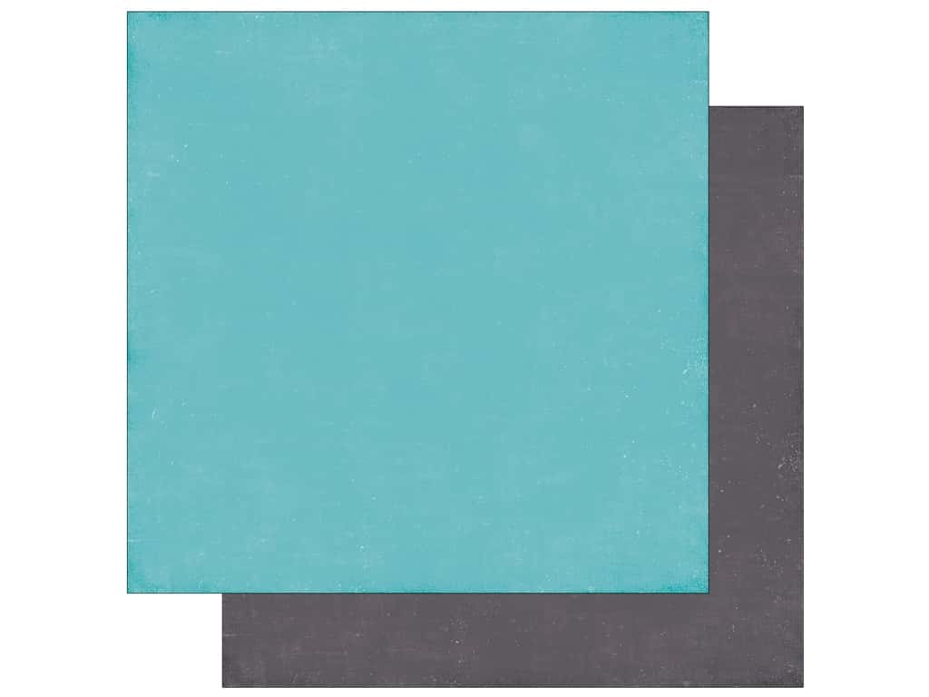 Echo Park A Perfect Winter Paper 12 in. x 12 in. Lt. Blue/Grey (25 pieces)