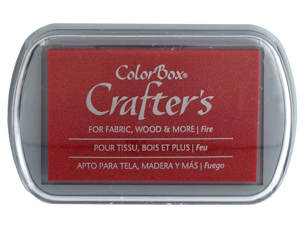 ColorBox Crafter's Ink Pad Full Size Fire