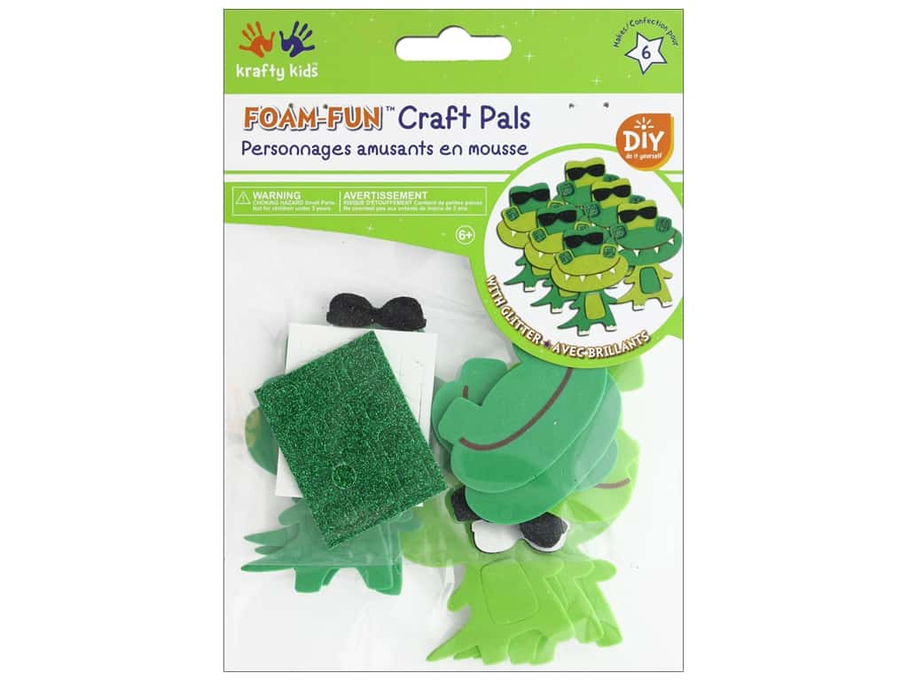 Multicraft Krafty Kids DIY Kit Foam Pal Rockin Crocs