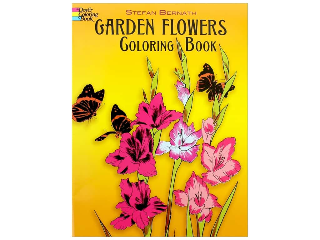 Dover Publications Garden Flowers Coloring Book