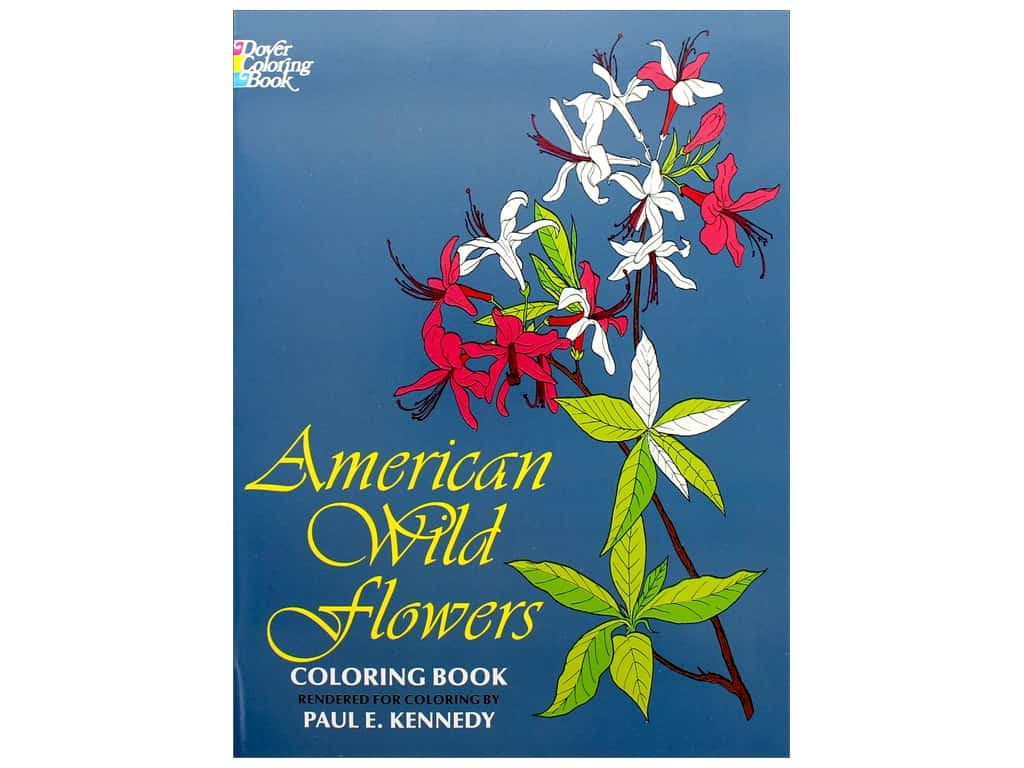 Dover Publications American Wild Flowers Coloring Book