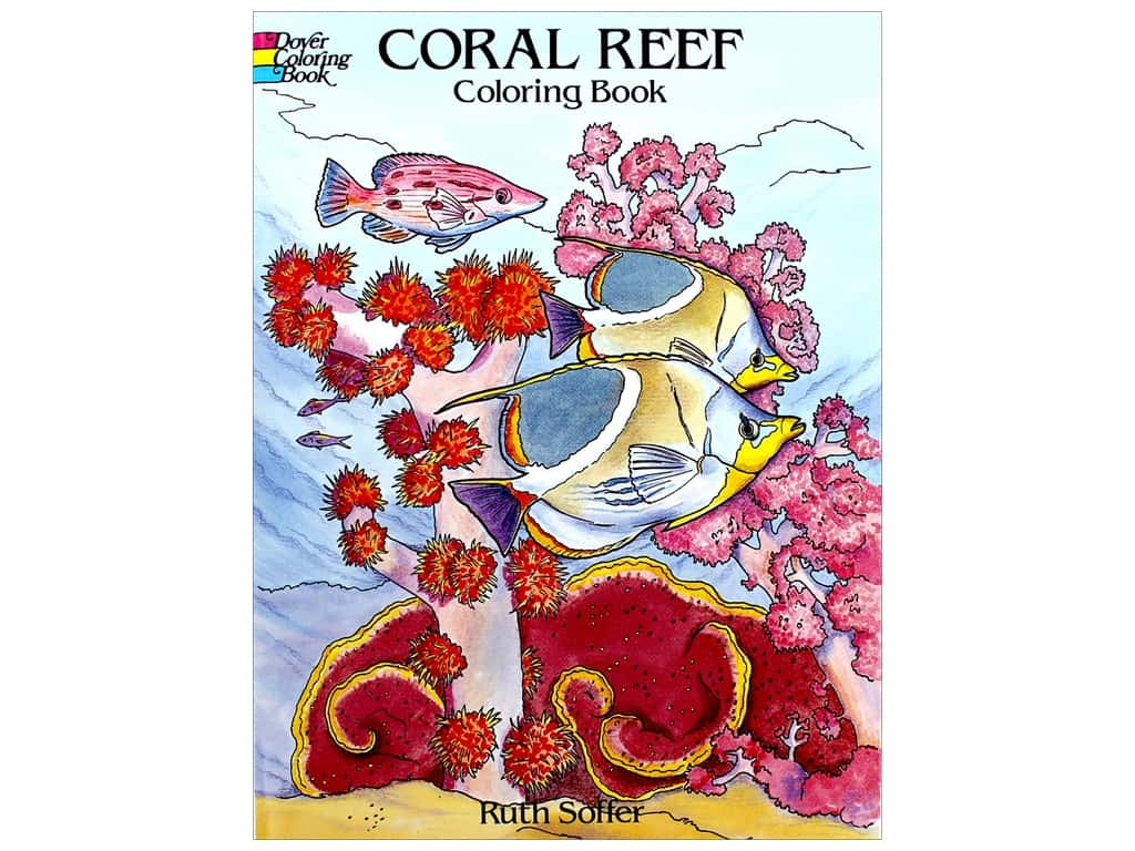 Dover Publications Coral Reef Coloring Book