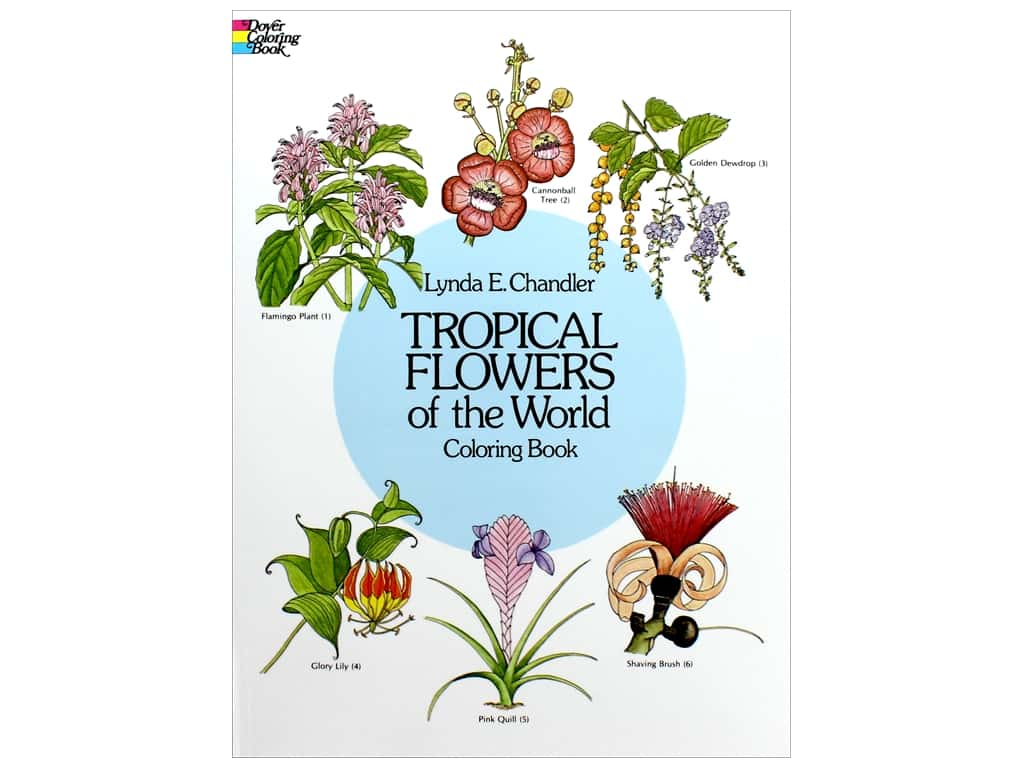 Dover Publications Tropical Flowers/World Color Book