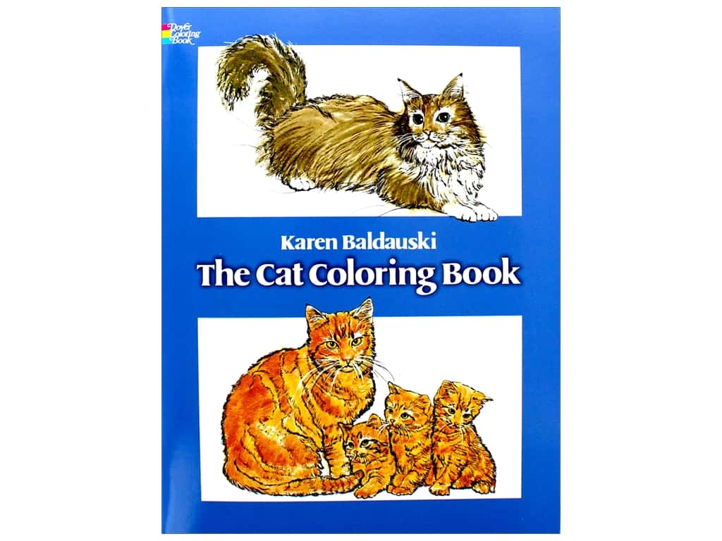 Dover Publications The Cat Coloring Book